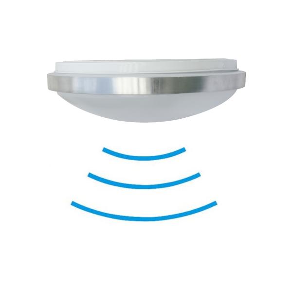 LED-Rundleuchte CHROM Senso BASELine