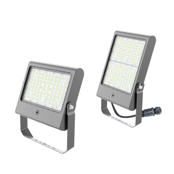 LED-Fluter CUBIC 3.0 PRIMELine Watt-selectable, grau
