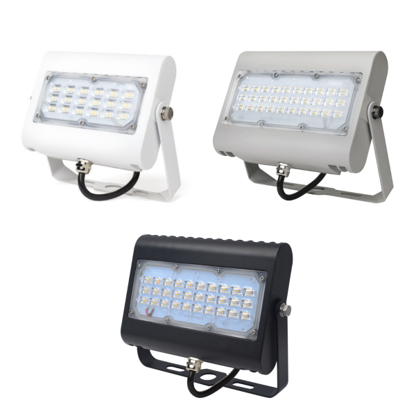 LED-Fluter CUBIC 2.0 MID-POWER PRIMELine 4.000 K 15/30 W