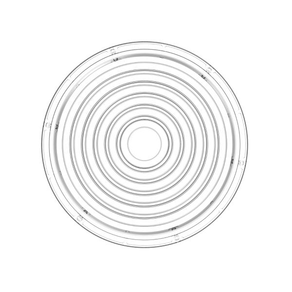 60°/90°-Linse für Hallentiefstrahler CORE 3.0 BASELine